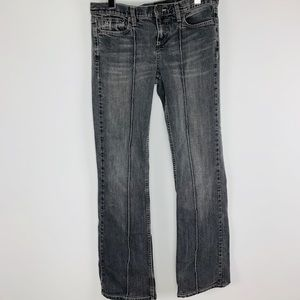 Marc Jacobs gray denim faded jeans